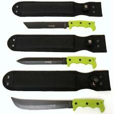 WOW SALE Lot of 3 Zombie Survival Hunting Knives | Machetes | Free Shipping Too
