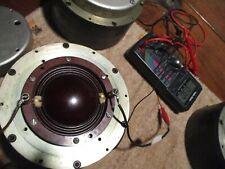 altec 290 alnico compression driver single horn 3 ohm(4 ohm?)