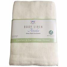 100% Organic Cotton Spa Blanket
