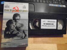 RARE OOP The Tamarind Seed VHS film 1974 Blake Edwards JULIE ANDREWS Omar Sharif