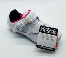 Louis Garneau Women's Cristal Bike Shoes, White US Size 8 Mens Size 6 MSRP $135