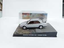 1:43 James Bond Car Collection  MASERATI BITURBO 425 LICENCE TO KILL  M BOX