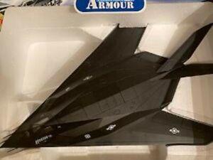 FRANKLIN MINT ARMOUR B11E408 F117 NIGHTHAWK BLACK 1:48  NEW IN ORIGINAL BOX