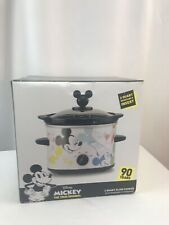 Mickey Mouse 90th Anniversary Slow Cooker Crockpot - 2 Quart