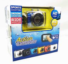 Action GOPRO Camcorder Touch Screen HD 720P CAMERA SUBACQUEA CASCO MOTO