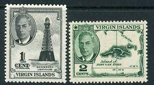 British Virgin Islands 1952 complete to 12c UM/MNH