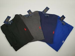 New Authentic Polo Ralph Lauren Waffle Knit Long Sleeve Cotton TShirt 12/14 Boys