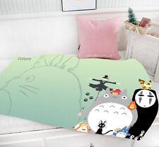 Ghibli Anime Characters Mini Single-layer Baby Blanket #40375