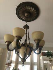 Minka-Lavery Camden 7 Light Bronze Finish Chandelier Dining Room Model # 816-355