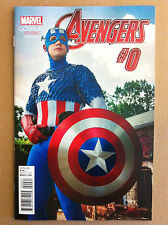 AVENGERS #0 COSPLAY PHOTO VARIANT COVER CAPTAIN AMERICA 1:15 NM 1ST PRINTING