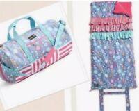 Matilda Jane WINTER FAWN Duffle Bag & Yearling Sleeping Bag Set Christmas New