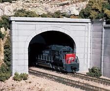 Woodland Scenics [WOO] HO Double Tunnel Portal Concrete C1256 WOOC1256
