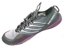 MERRELL Women's Lithe Dark Shadow Glove Barefoot Trail Hiking Shoe Size 8.5M