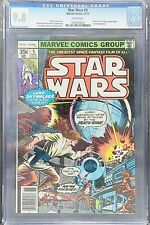 """Star Wars #5 CGC 9.8 WP Newsstand Edition 11/77 -  """"A New Hope"""" Adaptation Pt 5"""
