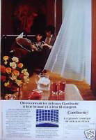 PUBLICITÉ 1973 RIDEAUX GARDISETTE LA GRANDE MARQUE DE RIDEAU-DÉCOR - ADVERTISING