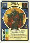 DOOMTROOPER: TECHNOMANCER ENGLISH WARZONE MINT MUTANT CHRONICLES CCG