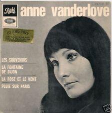 EP 4 TITRES--ANNE VANDERLOVE--LES SOUVENIRS--1967