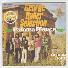"45 tours GEORGE BAKER SELECTION Vinyl 7"" PALOMA BLANCA - WARNER BROS 16541 RARE"