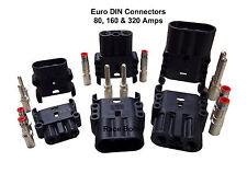 ANDERSON Euro DIN Batterie Connecteur Prise - 80, 160 & 320 AMP Conviendra Rema