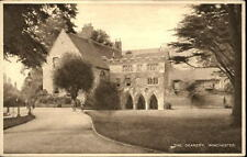 WINCHESTER Vintage Postcard ~1920 The Deanery Daily News Wallet Guide Series AK