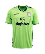 ASTON VILLA 2013/14 3rd (L, XL, 2XL) MACRON SHORT SLEEVE FOOTBALL SOCCER SHIRT.