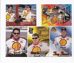 Tony Stewart ROOKIE card 1998 Stealth #44  SWEET & SCARCE! ONE CARD ONLY!
