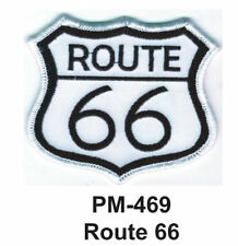 """3""""  ROUTE 66 Embroidered Military Patch"""