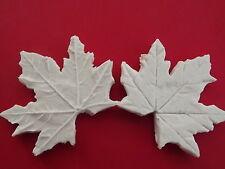 Double Maple Leaf Veiner sugarcraft mould cake decorating food grade