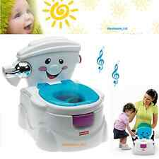 Fisher Price My Talking pot ami-Musical Learning Sons Toilet Training