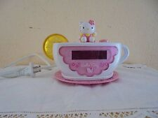 Vintage Hello Kitty Radio/Alarm Clock - Fully functioning.