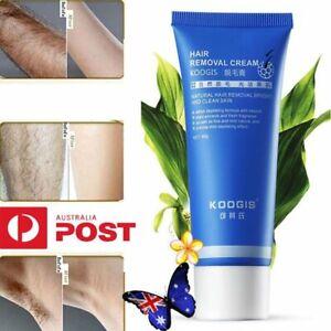 Permanent Hair Removal Cream For Legs Pubic Armpit Depilatory Paste Body Care AU