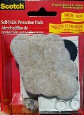 3m Scotch Self-Stick Floor Care Pads, 30 Pads Per Pack (MMM734ES)
