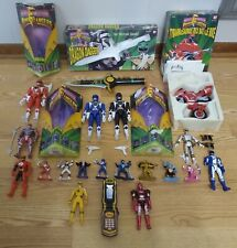 Bandai Power Rangers Dragon Dagger, Red Ranger, Black Ranger Loose Lot!!!