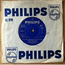 """DUSTY SPRINGFIELD I Just Don't Know What To Do With Myself 7"""" Single 1964 VG/EX"""