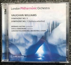 LPO0072(2) Haitink - Vaughan Williams - Symphonies NOs. 5&7.