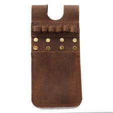 Cow Leather Pocket Arrow Quiver Bag Pouch 6 Arrows Holder Case for Recurve Bow