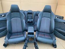 Audi RS4 8W A4 S4 B9 Exclusive Lederausstattung Leder Sitze S-Line Massage Rot