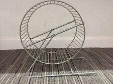 Solid Metal Rat Play Wheel And Stand - Sturdy Build - New (Ex Display)