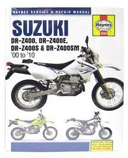 NEW Haynes Manual For Suzuki DRZ400 00-05,DRZ400E 00-09,DRZ400S/SM 00-10