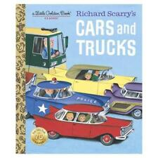Richard Scarry's Cars and Trucks by Richard Scarry, Richard Scarry (illustrator)