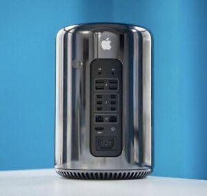  Mac Pro 2013 | 6 Core 20T 3Ghz | 64GB RAM | 2X D700 6GB | 256GB SSD | STUDIO