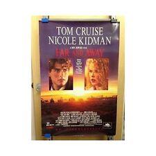 FAR AND AWAY Original Home Video Poster Cruise Kidman