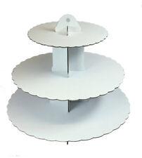 Culpitt Bianco 3 Tier Cupcake Base Torta Vetrina Birhtday Decorazione Feste