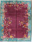 art deco chinese rug No. 8399 8.11x11.7