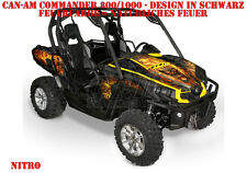 INVISION DEKOR GRAPHIC KIT UTV CAN-AM COMMANDER,MAVERICK NITRO B