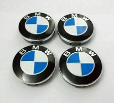 4 pcs Bmw Alloy Wheel Center Hub Caps E30,E36,E46,E92 1,3,5,6,7,X5 X6 M3 Z4 68mm