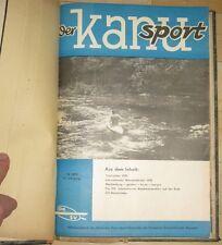 Der Kanusport Zeitschrift des Kanu-Verbandes der DDR Konvolut 1968-1970 Kanu