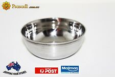 10 X Stainless Steel Small Bowls Steel Katori set