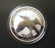 2011 Australian Kookaburra $1 1 oz Silver Bullion Coin .999 Fine Dollar round