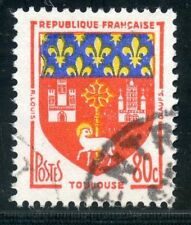 STAMP / TIMBRE FRANCE OBLITERE N° 1182 BLASON TOULOUSE